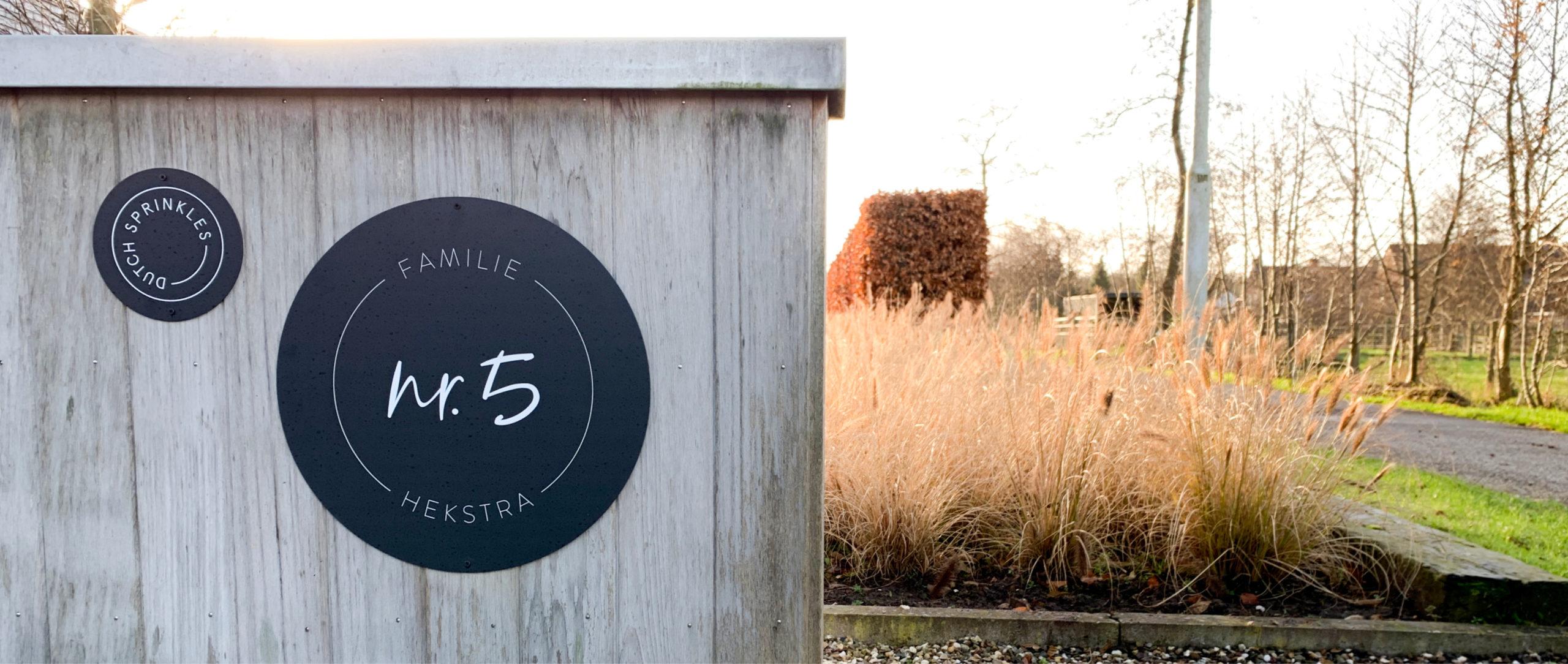 Slider outdoor muurcirkels Dutch Sprinkles