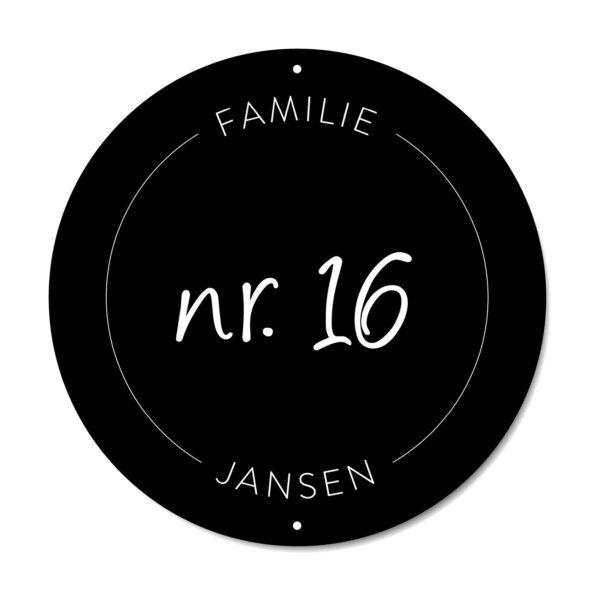 DutchSprinkles_Naambord original zwart