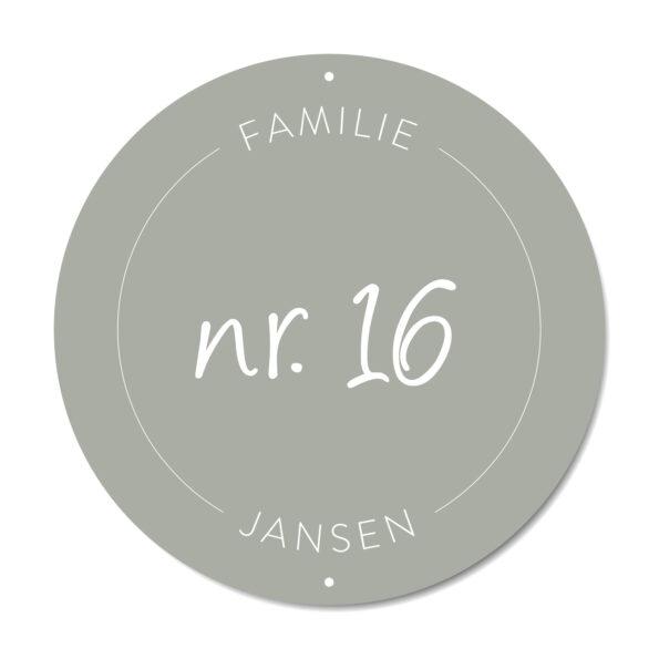 DutchSprinkles_Naambordjes Original groen