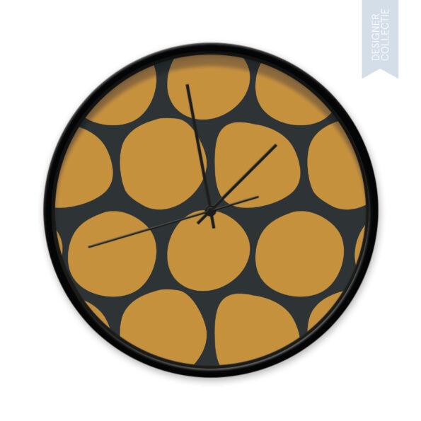 Klok Dots yellow and black - Dutch Sprinkles 15