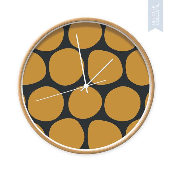 Klok Dots yellow and black - Dutch Sprinkles 3