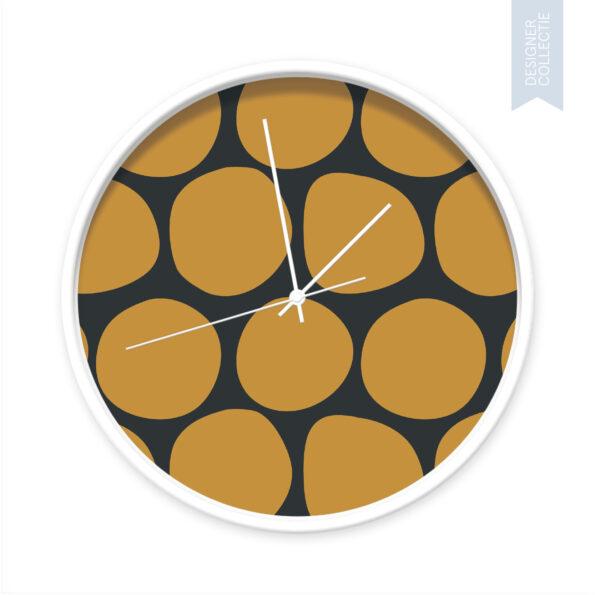 Klok Dots yellow and black - Dutch Sprinkles