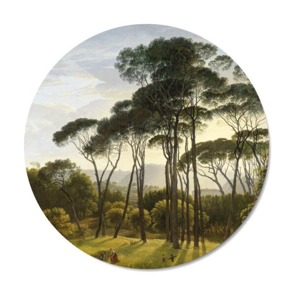 Mini muurcirkel Vintage trees - Dutch Sprinkles