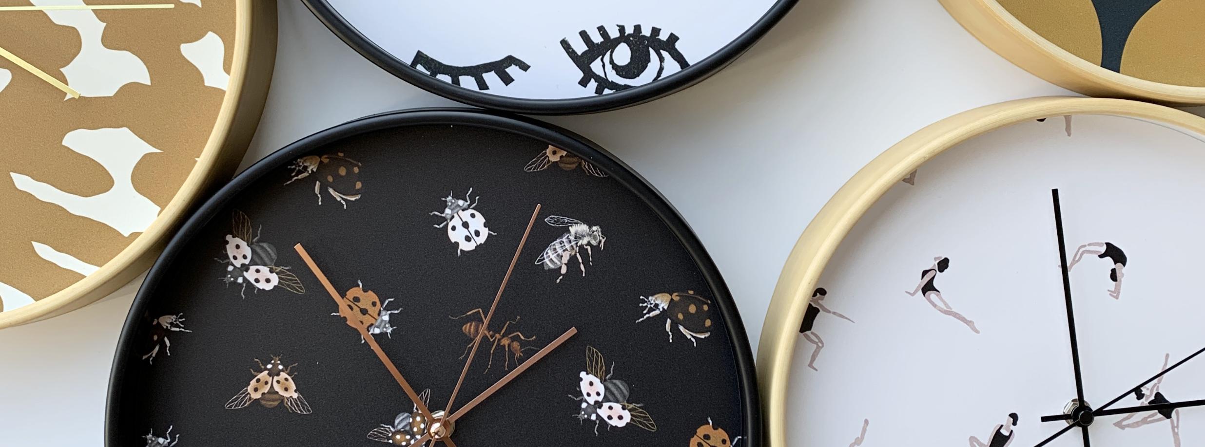 Dutch Sprinkles designer klokken - slider