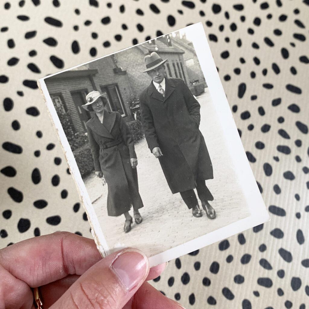 Oude foto digitaal maken - Dutch Sprinkles