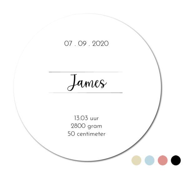 Geboortecirkel James Dutch Sprinkles - productafbeelding