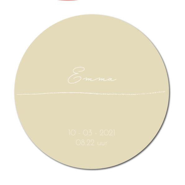 Geboortecirkel Emma sand - Dutch Sprinkles
