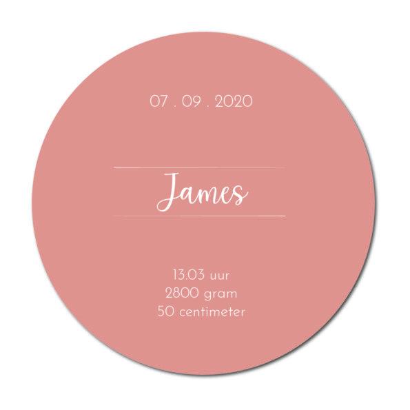 Geboortecirkel James terra - Dutch Sprinkles
