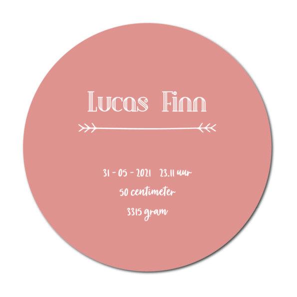 Geboortecirkel Lukas terra - Dutch Sprinkles