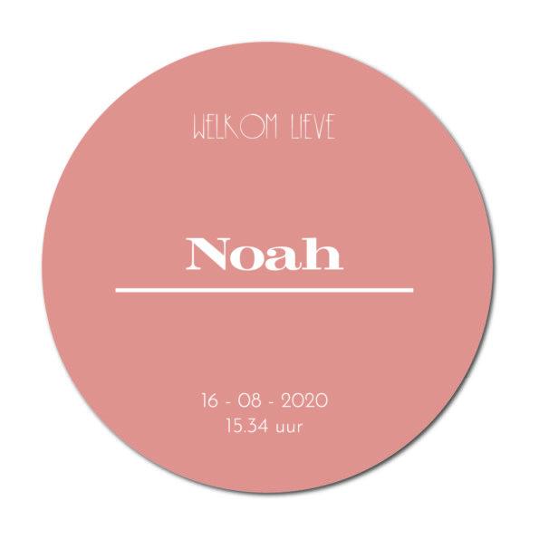 Geboortecirkel Noah terra - Dutch Sprinkles
