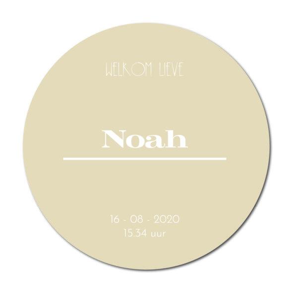 Geboortecirkel Noah sand - Dutch Sprinkles