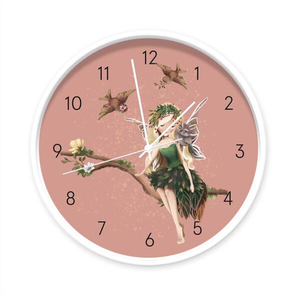Klok Fairy Aurora wit/wit