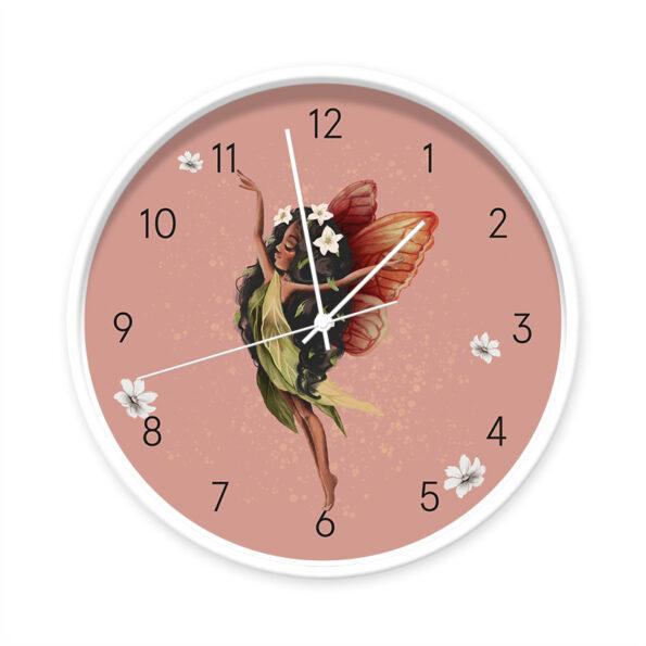 Klok Fairy Melody wit/wit