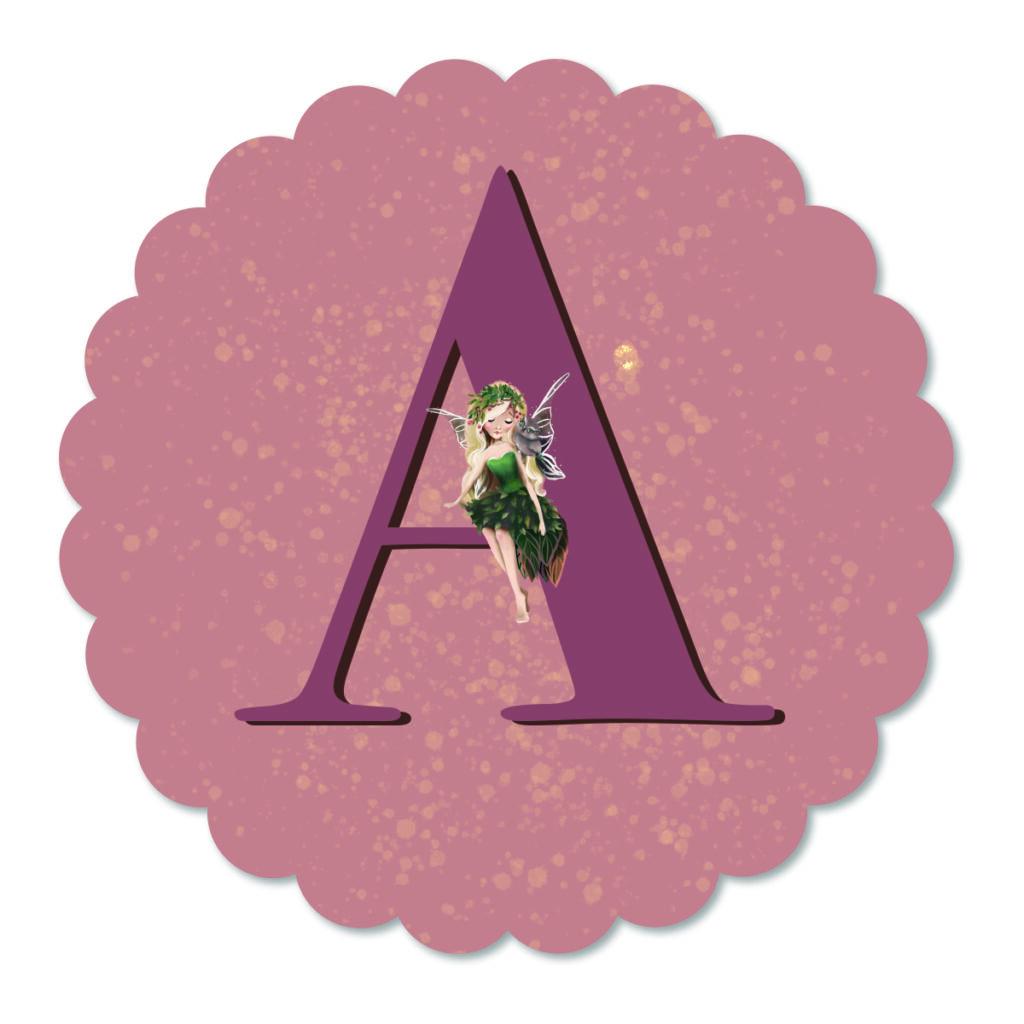 Muurbloempje Fairy Aurora Letter van Dutch Sprinkles