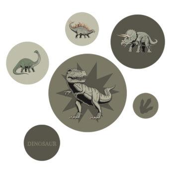 Productafbeelding Muurstickers Dino - Dutch Sprinkles