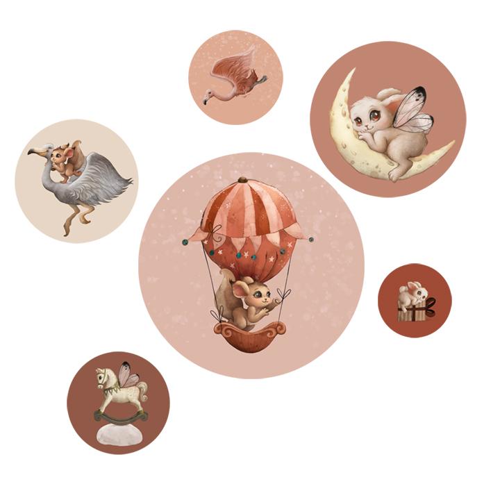 Productafbeelding Muurstickers Magic Dreams - Dutch Sprinkles